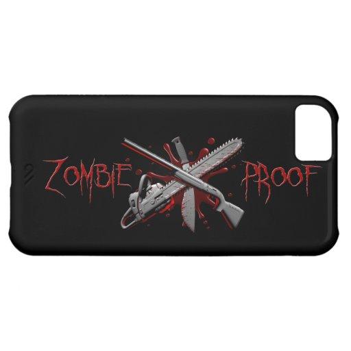 Zombie-Proof iPhone Cases iPhone 5C Cases