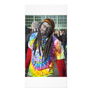 Zombie Rasta Dude Customised Photo Card