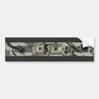 Zombie Reagan Bumper Stickers