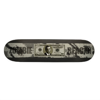 Zombie Reagan Custom Skate Board
