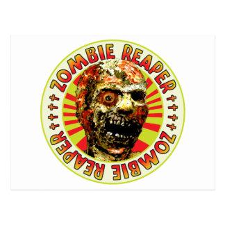 Zombie Reaper Postcard