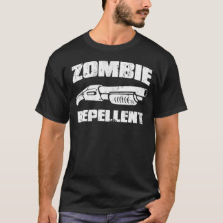 zombie repellent - the shotgun T-Shirt