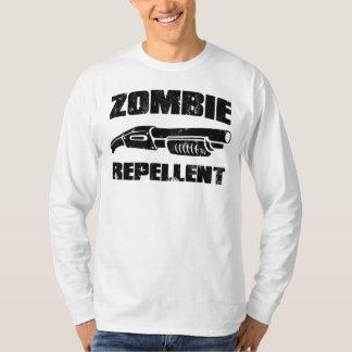 zombie repellent - the shotgun tee shirt