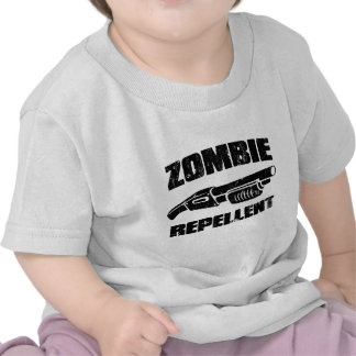zombie repellent - the shotgun shirt