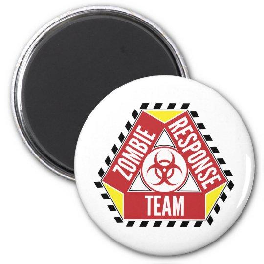 Zombie Response Team 6 Cm Round Magnet