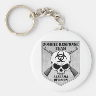 Zombie Response Team: Alabama Division Basic Round Button Key Ring
