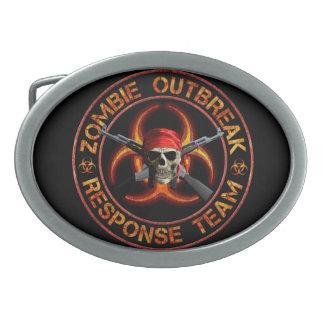 Zombie Response Team Belt Buckles