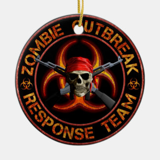 Zombie Response Team Christmas Ornament