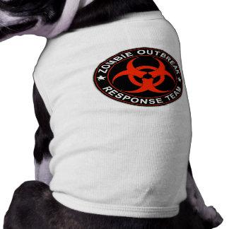 Zombie Response Team Kill Walkers Dead Sleeveless Dog Shirt