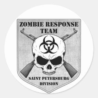 Zombie Response Team: Saint Petersburg Division Round Sticker