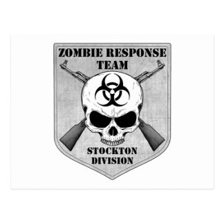 Zombie Response Team Stockton Division Post Cards