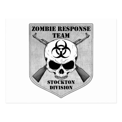 Zombie Response Team: Stockton Division Post Cards