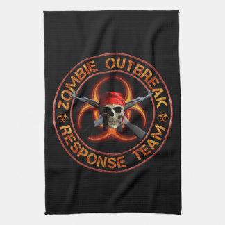 Zombie Response Team Tea Towel