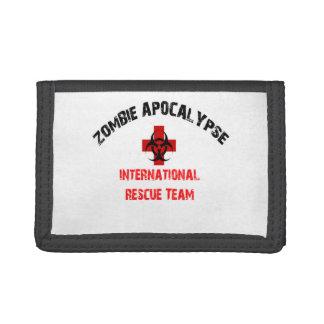 Zombie Response Team Wallet Walking Bio Hazard