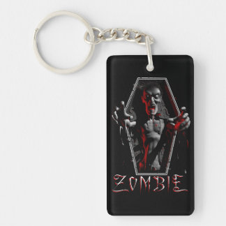 Zombie Rising Key Ring