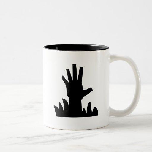 Zombie Rising Pictogram Mug