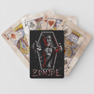 Zombie Rising Playing Cards