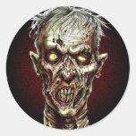 Zombie!! Round Sticker