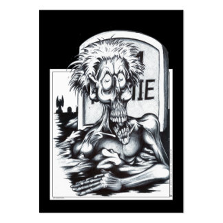 Zombie Sam Large Business Cards (Pack Of 100)