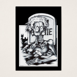 Zombie Sam Business Card