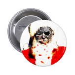 Zombie Santa Button