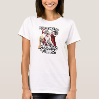 Zombie Santa Christmas Horror T-Shirt