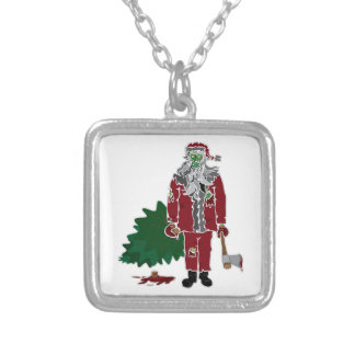 Zombie Santa Claus Necklaces