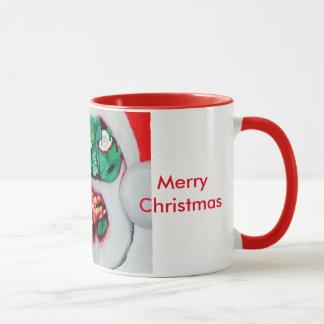 Zombie Santa Horror Christmas Mug