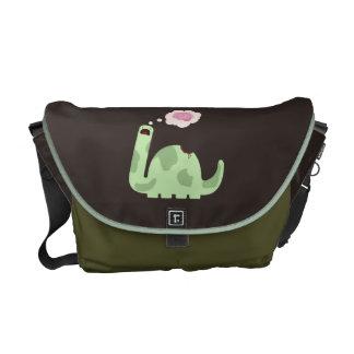 Zombie-Saurus Messenger Bag