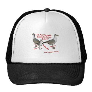 Zombie Seagulls That Say Brains Cap