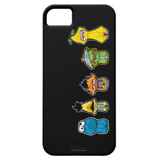 Zombie Sesame Street Characters iPhone 5 Case