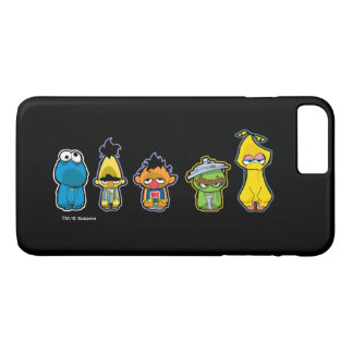 Zombie Sesame Street Characters iPhone 7 Plus Case