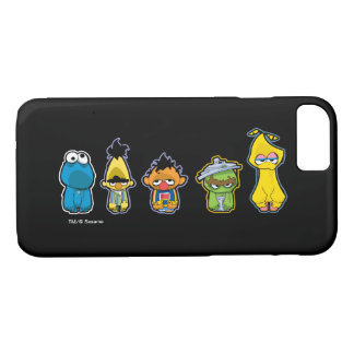 Zombie Sesame Street Characters iPhone 8/7 Case
