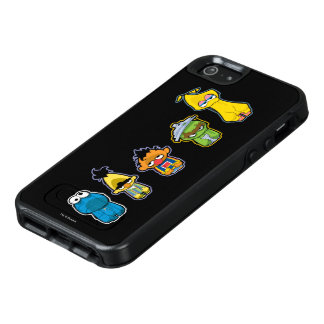 Zombie Sesame Street Characters OtterBox iPhone 5/5s/SE Case