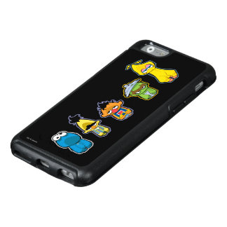 Zombie Sesame Street Characters OtterBox iPhone 6/6s Case