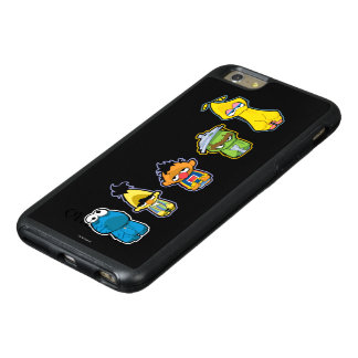 Zombie Sesame Street Characters OtterBox iPhone 6/6s Plus Case
