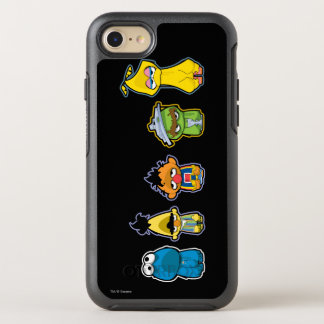 Zombie Sesame Street Characters OtterBox Symmetry iPhone 7 Case