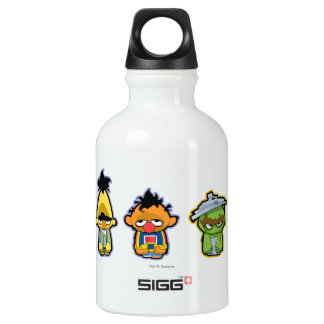 Zombie Sesame Street Characters SIGG Traveller 0.3L Water Bottle