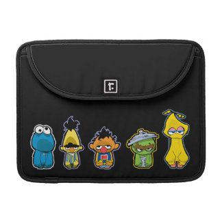Zombie Sesame Street Characters Sleeve For MacBook Pro