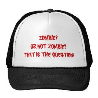 Zombie Shakespeare? Cap