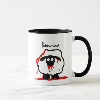 Zombie Sheep Mug - Baaarains