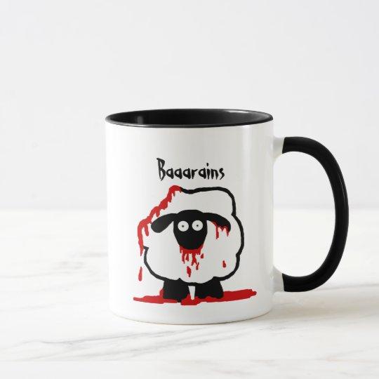 Zombie Sheep Mug - Baaarains