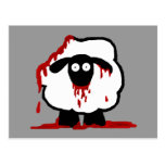 Zombie Sheep Postcards