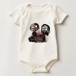 Zombie Shopping Babygrow Baby Bodysuit