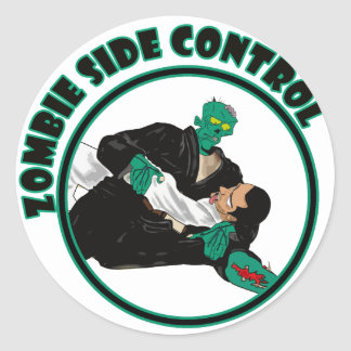 Zombie Side Control Stickers