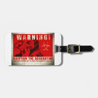 Zombie,sign Luggage Tag