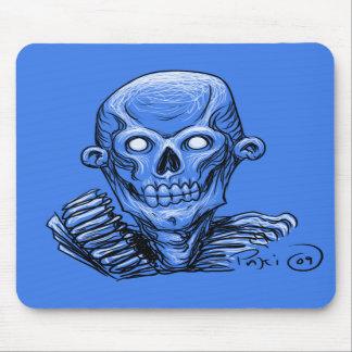 Zombie Skull Head Mousemat