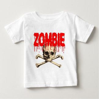 Zombie Skull Red Baby T-Shirt