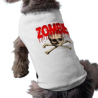 Zombie Skull Red Shirt