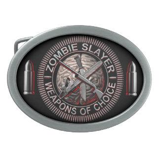 Zombie Slayer Belt Buckles